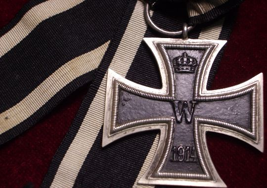Cruz de Hierro de 2ª clase ww1.