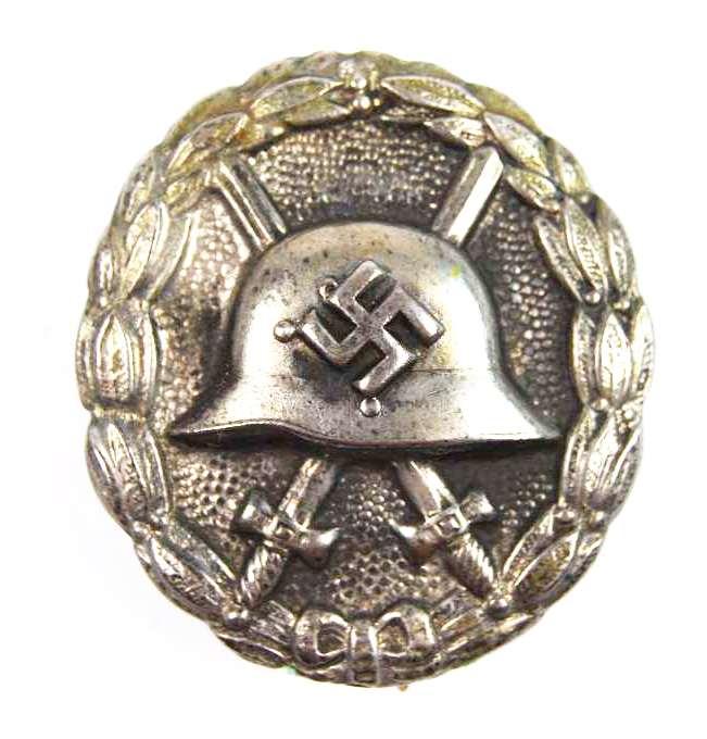 """Legión Cóndor, Distintivo de Herido en Plata """"43"""""""