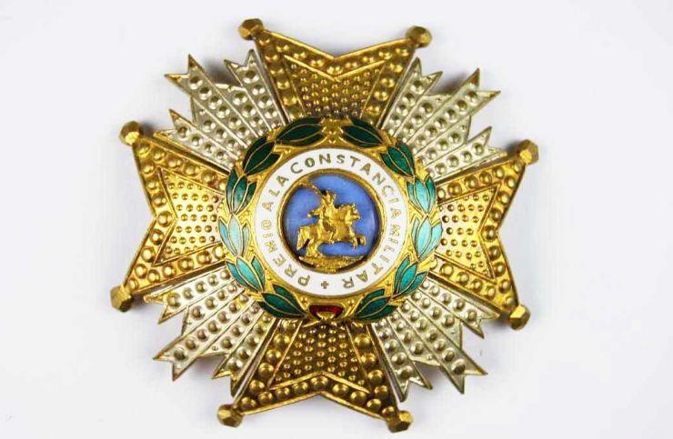 Real y Militar Orden de San Hermenegildo.