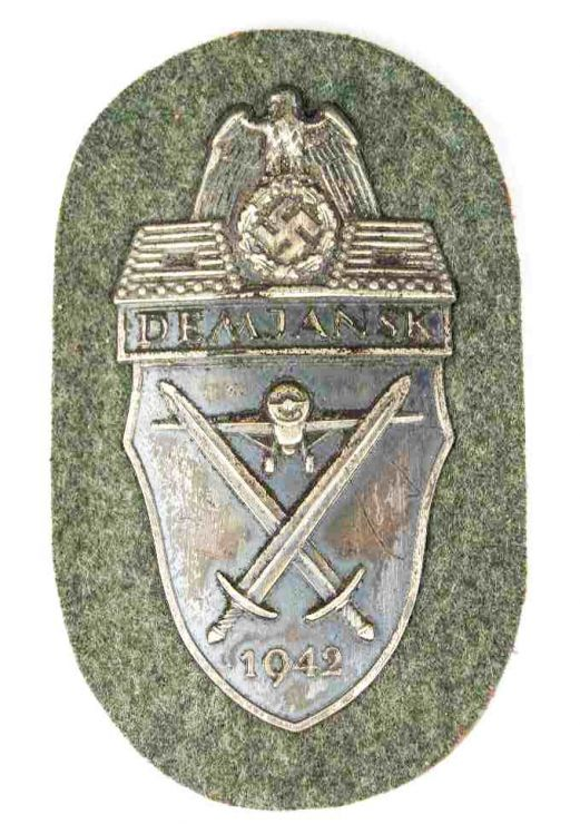 Distintivo de Brazo de la Campaña del Demjansk.
