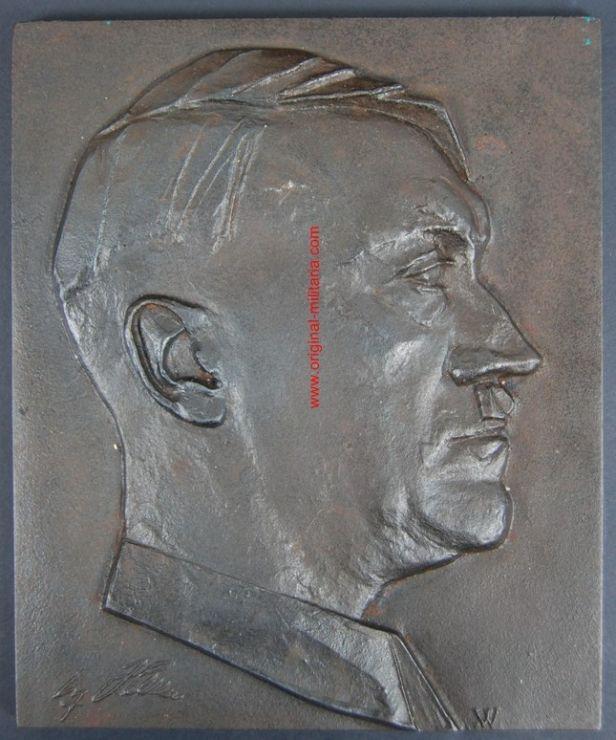Placa de Hitler con Manufactura