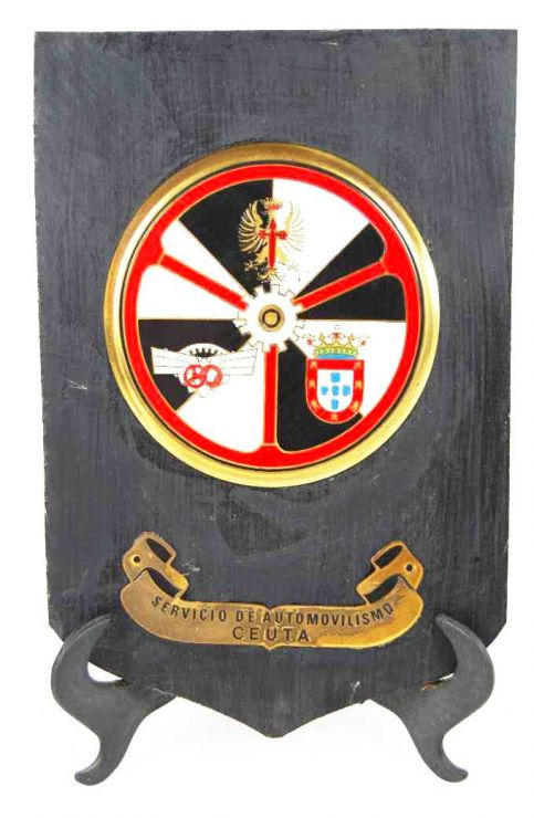 Metopa del Servicio Militar de Autos de Ceuta