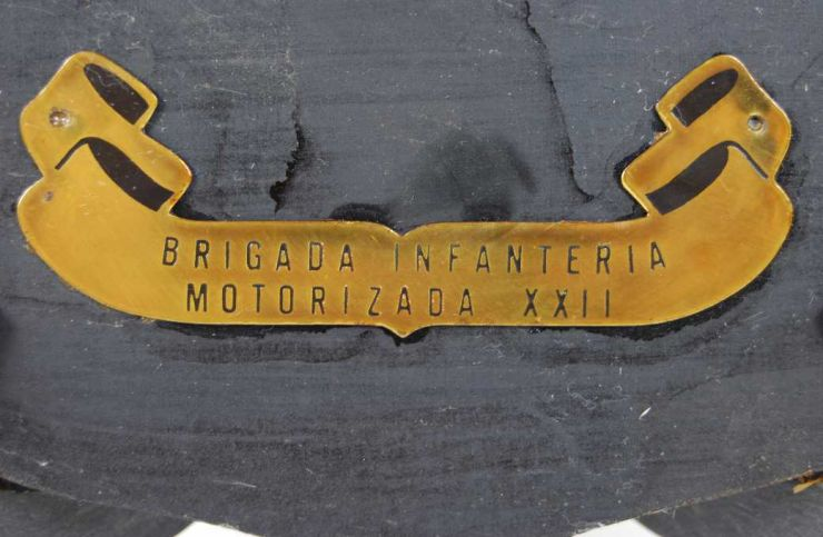 Metopa Epoca Franco, Brigada Infant. Mot. XXII