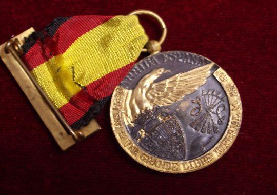 Medalla de Campaña 1936-39.