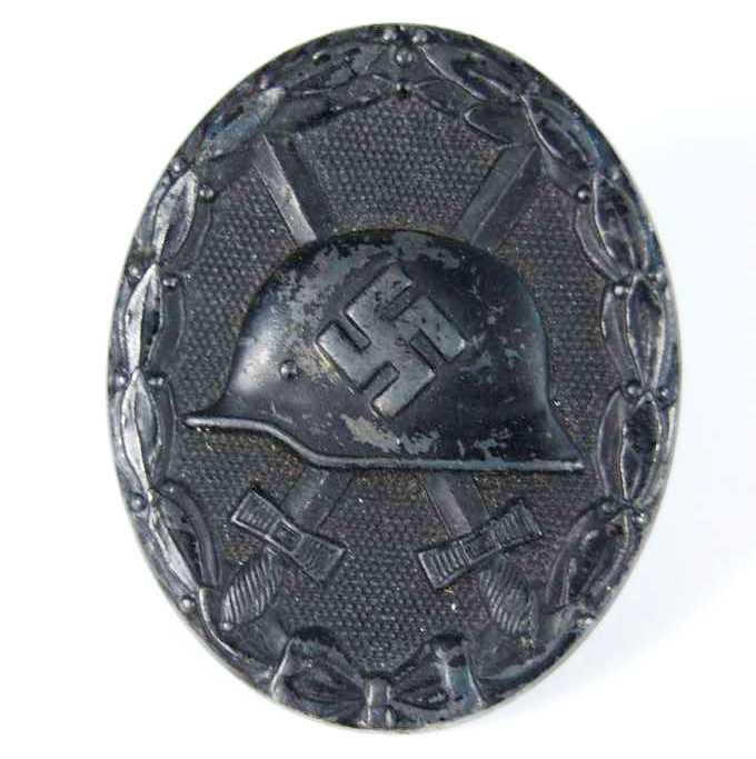 Distintivo de Herido en Negro 1939