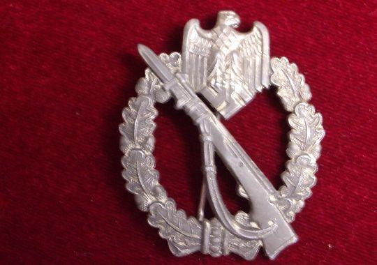 """Wehrmacht, Distintivo de Asalto de Infantería en Plata """"Zimmermann"""""""