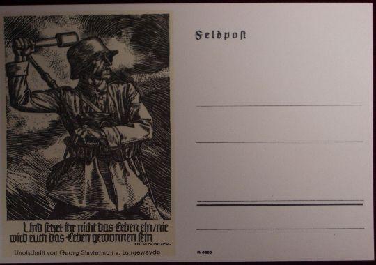 Tarjeta Postal (Postkarte)