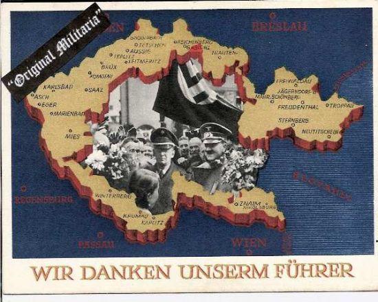 III Reich, Tarjeta Postal de Propaganda