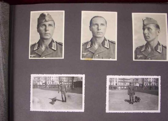 Album de Fotos de un Soldado del Hospital de Campaña 766