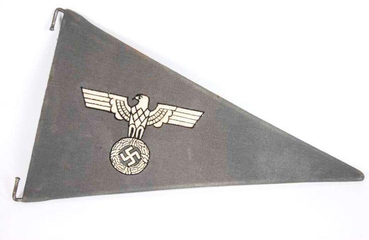 WH/LW, Banderín de Coche para Miembros de las Unidades de Transporte