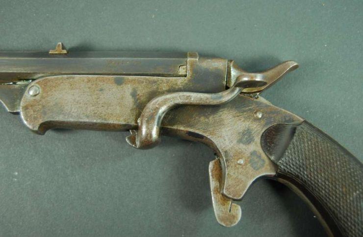 Alemania, Pistola de Tiro de Sala, Segunda Mitad Siglo XIX