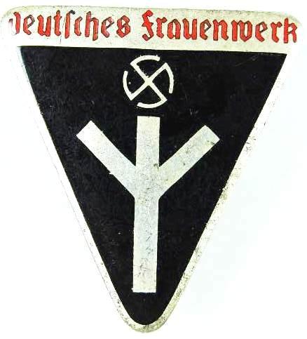 """Distintivo de Miembro del """"Deutsches Frauenwerk"""""""