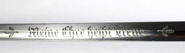 SS/ Espada de Unterführer