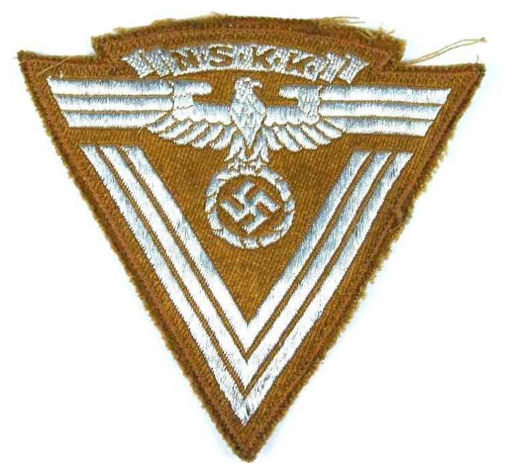 Distintivo para Manga de la Vieja Guardía del NSKK