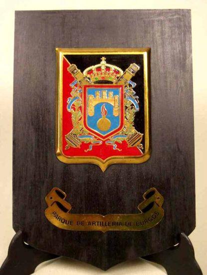 Metopa Parque Artillería de Burgos