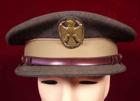 Gorra de Policía Nacional