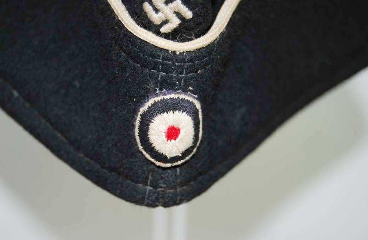 """Gorro de Campaña M38 de Oficial de Panzer División """"Hermann Göring"""""""