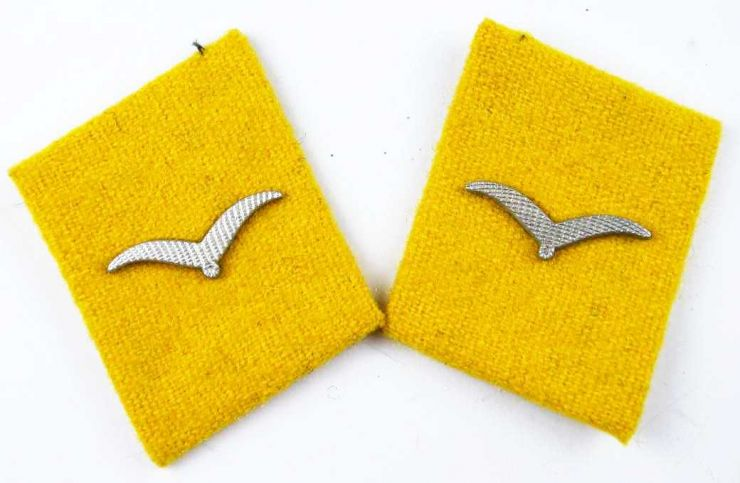 Luftwaffe, Parches de Cuello de Vuelo/Paracaidista