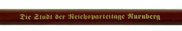 NSDAP, Lápiz de Propaganda del Reichparteitag