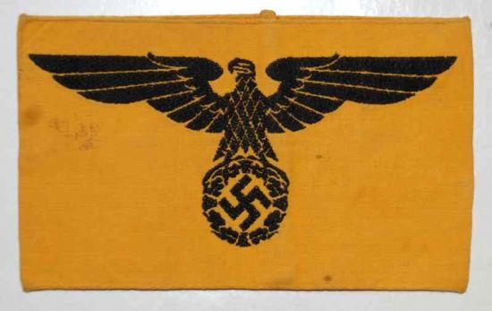 Brazalete para Empleados Civiles de la Wehrmacht