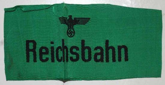 Brazalete de Servicio de Ferrocarriles del Reich
