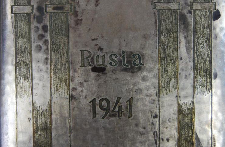 "DA/ Pitillera de Alpaca ""Rusia 1941"""