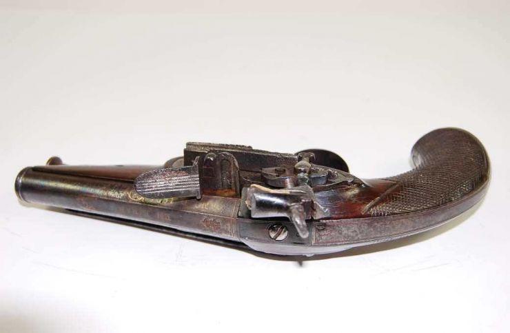 """Pistola de Pedernal  de 1821 de """"Urquiola"""""""