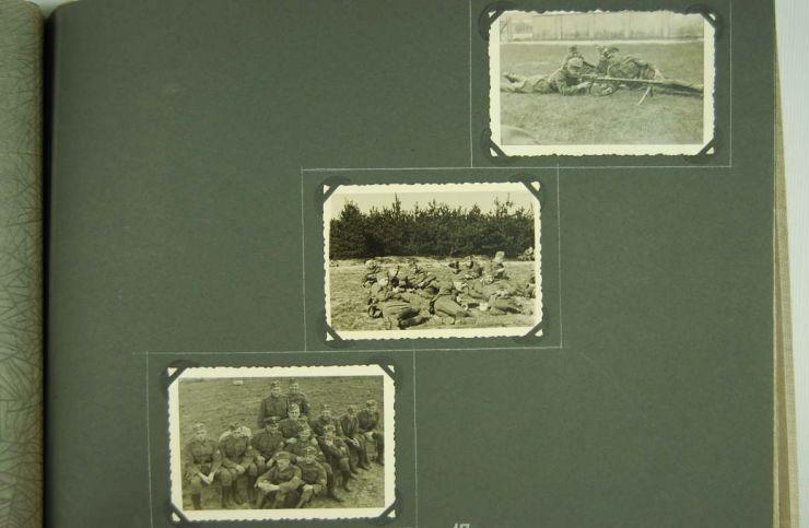 """Álbum de Fotos del Campo de entrenamiento de Servicio de Protección Postal de """"Zeesen"""""""