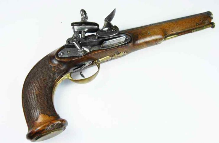 "Pistola Militar Española ""Berrando"" circa 1810"