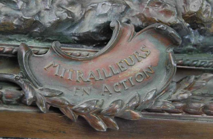 "Figura ""Mitrailleurs en Action"""