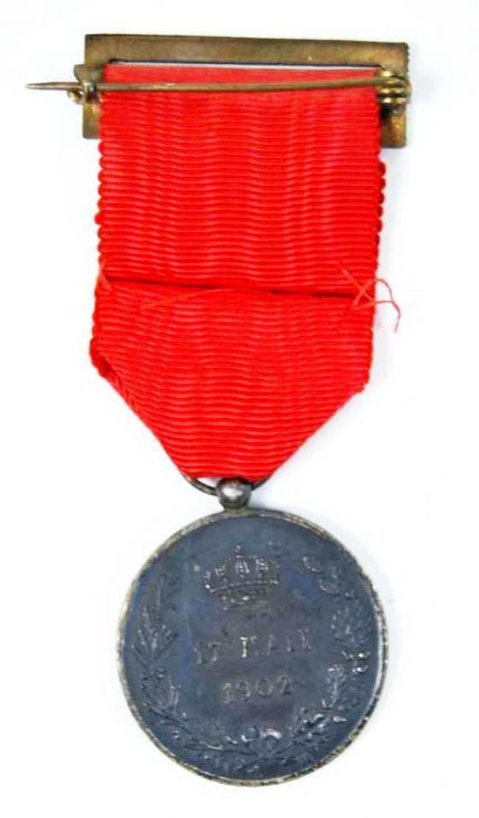 Medalla de Distinción de la Jura de Alfonso XIII. Plata