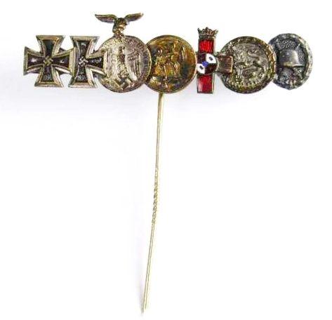 Legión Cóndor, Aguja con 7 Condecoraciones en Miniatura