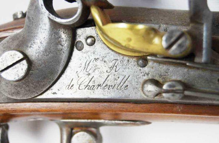 Fusil Frances de Infantería M1777, A. IX para Cadetes, Manufactura Real