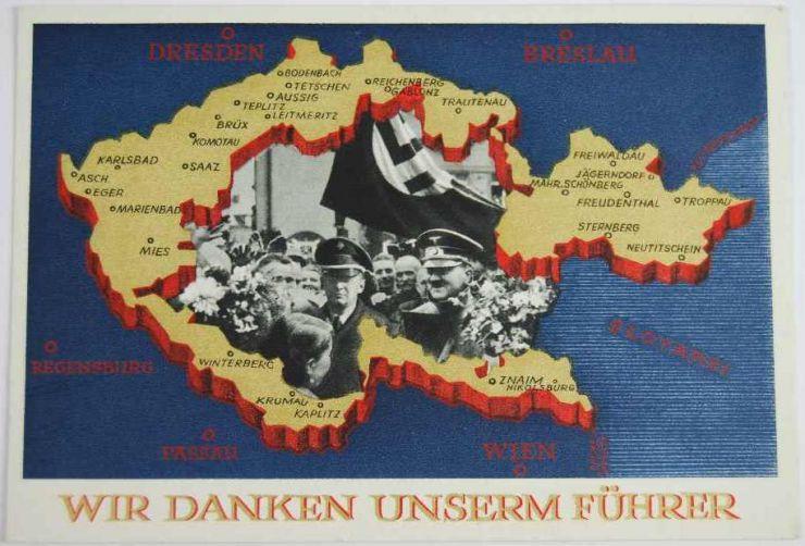 III Reich, Postal de Propaganda
