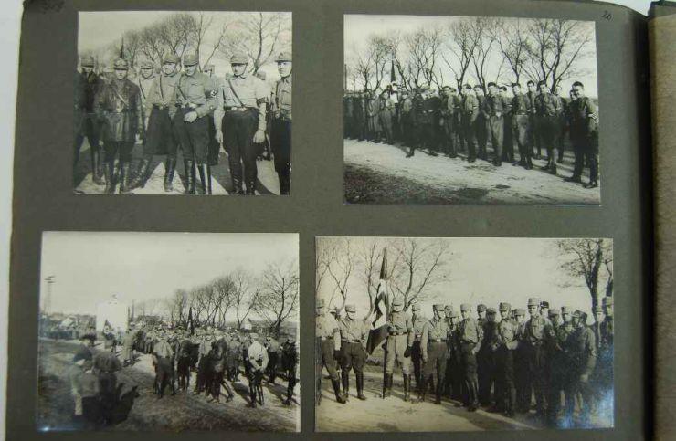 NSDAP, Álbum de Fotos con foto de Ernst Röhm