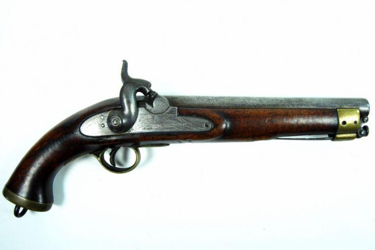 Pistola Inglesa circa 1850 para la Cia de Indias Orientales