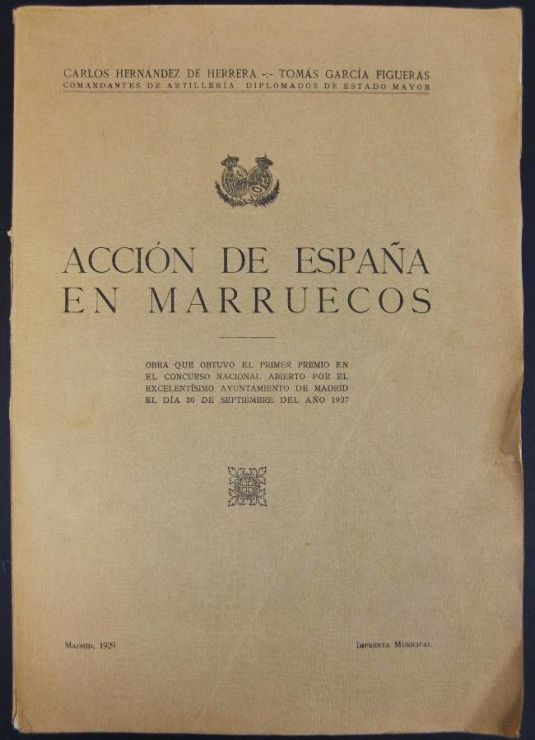 """Acción de España en Marruecos, 1929"""