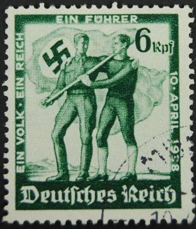 """Sello """"Ein volk Ein Reich Ein Fuhrer"""""""