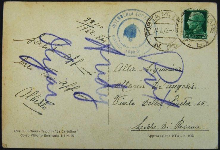 Postal Italiana de Tripoli