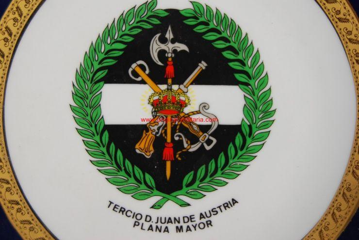 "Plato Conmemorativo Tercio ""Juan de Austria"""