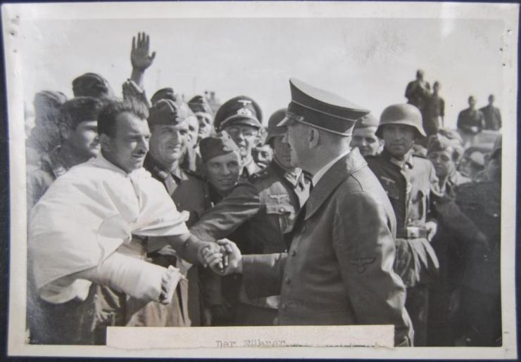 Foto de Hitler, Rusía 1941, Heinrich Hoffmann