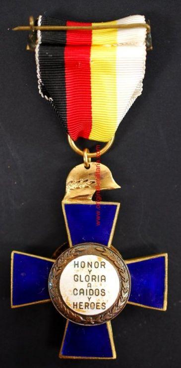 Medalla por XXV Años de Paz para la División Azul