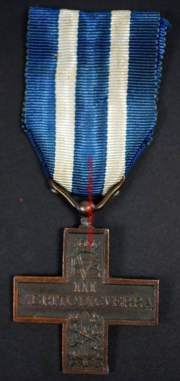 Italia, Cruz al Mérito de Guerra