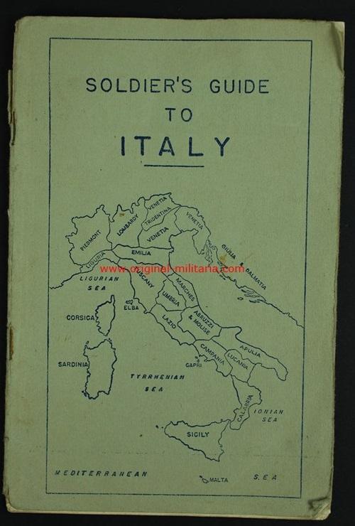 Guía del soldado en Italia