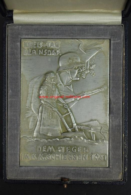 """Estuche con Premio de """"KREIS-TAG DER NSDAP"""" de 1941"""
