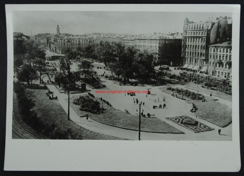 Foto de Prensa de la Plaza Turgenjew en San Petersburgo