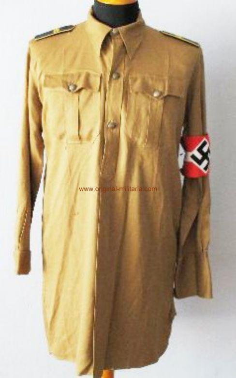 HJ, Camisa Completa fechada en 1939