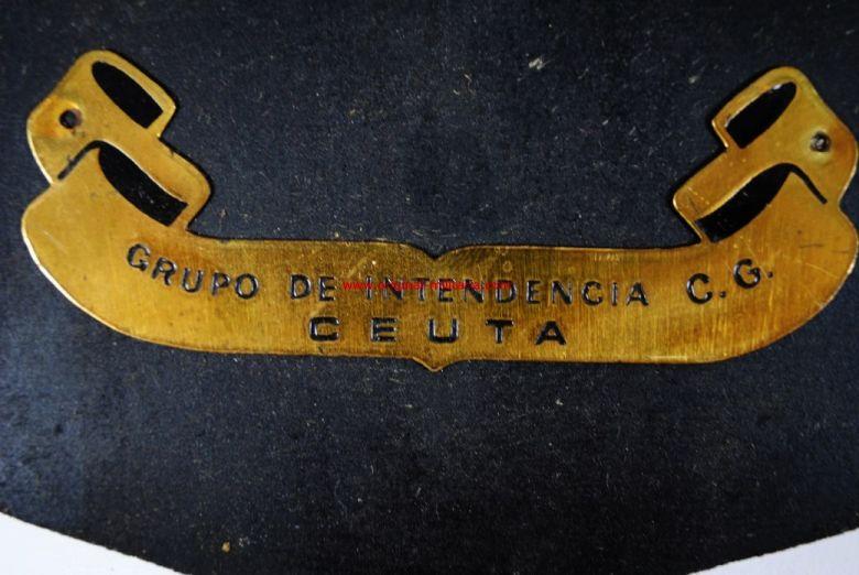 Metopa del Grupo de Intendencia C.G. de Ceuta