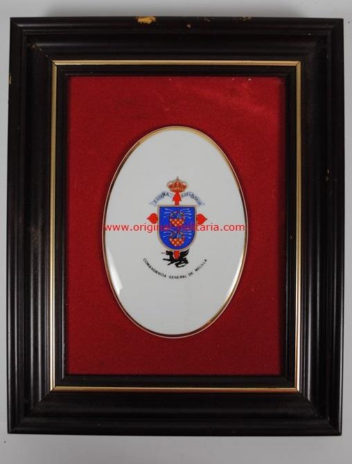 Escudo Enmarcado de la Comandancia General de Melilla