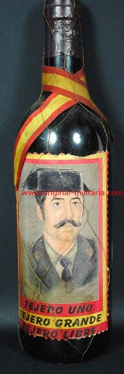 "Botella de Vino de ""Tejero"""